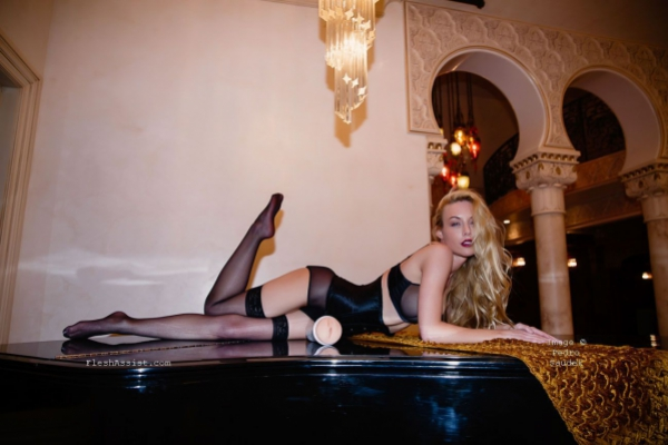 Kayden Kross by piano Image 2