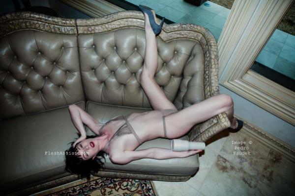 Stoya on sofa Image 15