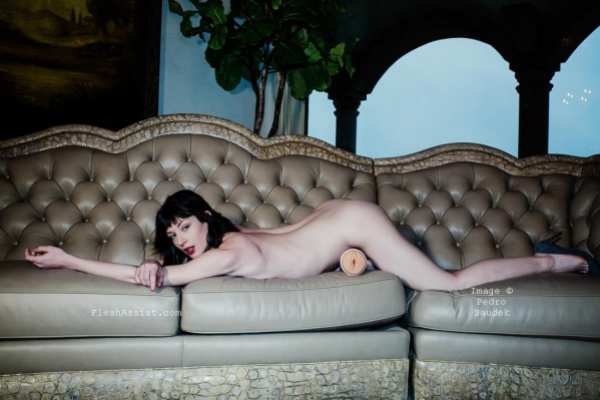 Stoya on sofa Image 16