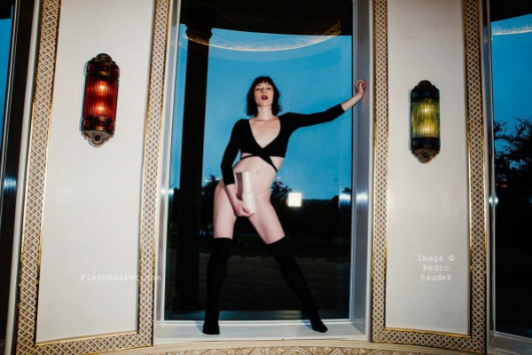 Stoya by a window Image 1