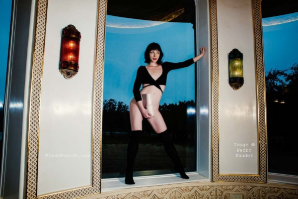 Stoya by a window Image 2