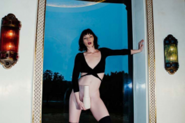 Stoya by a window Image 4