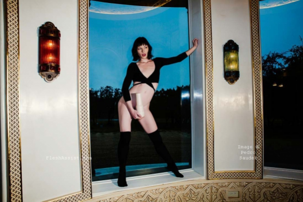 Stoya by a window Image 6