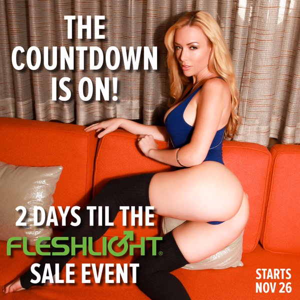 Fleshlight Black Friday 2015 Image
