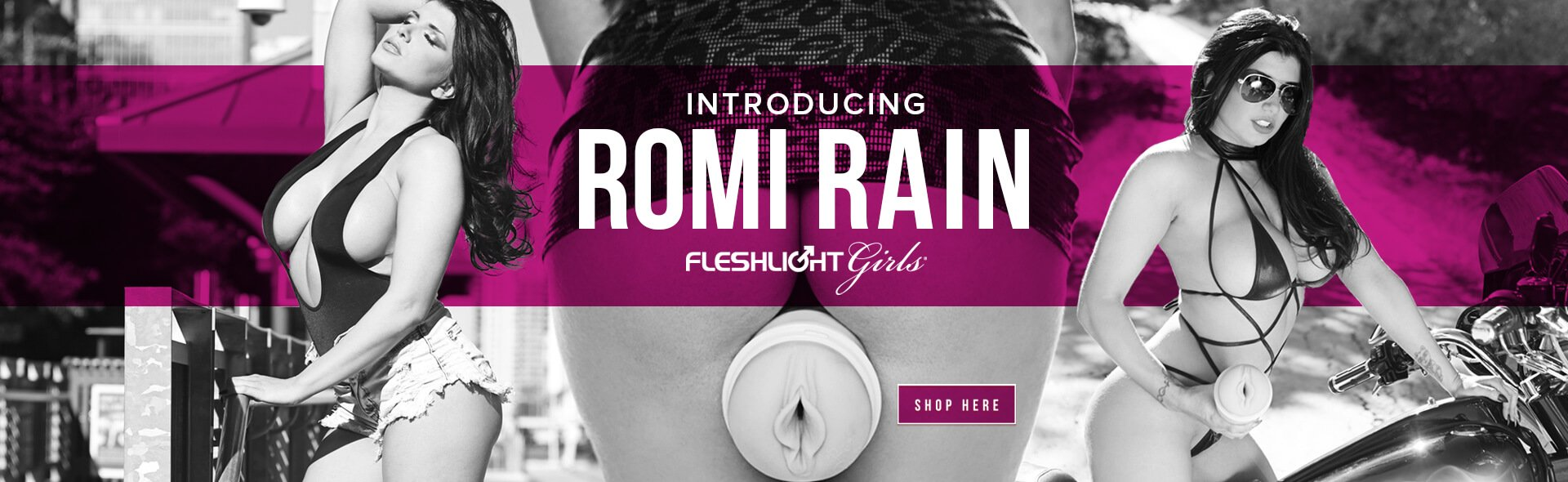 New Fleshlight Freaks and Romi Rain Fleshlight Image