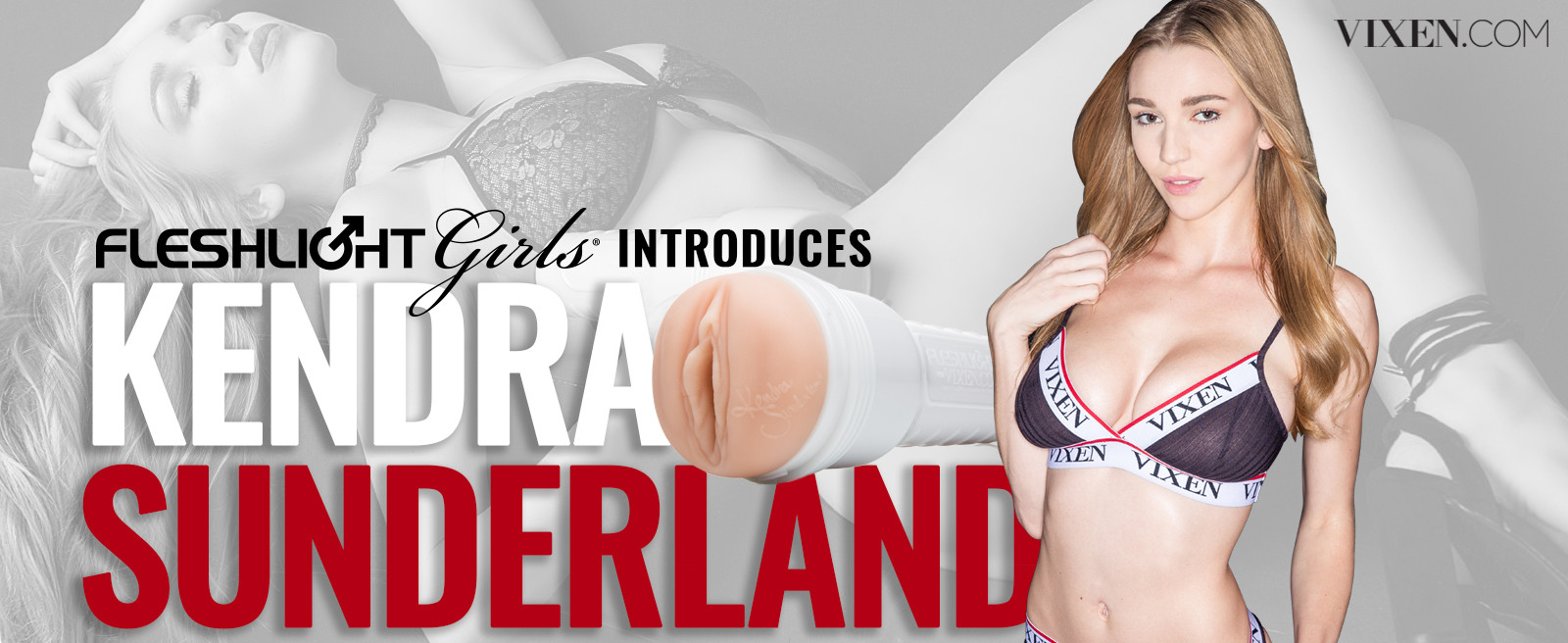 Kendra Sunderland is Fleshlights Newest Girl Image