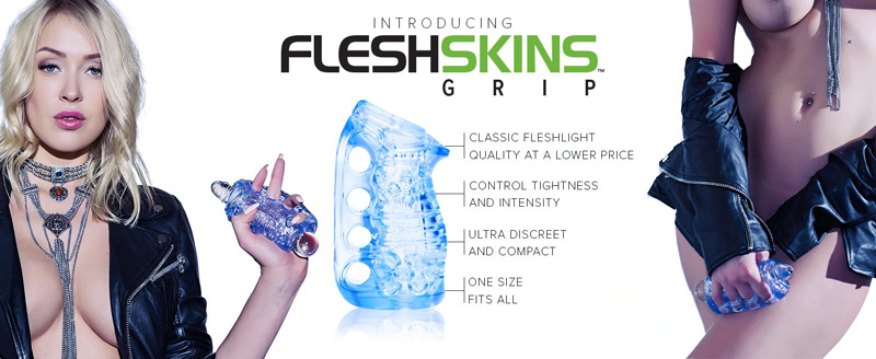 Fleshlight Latest Product is called FleshSkin Image