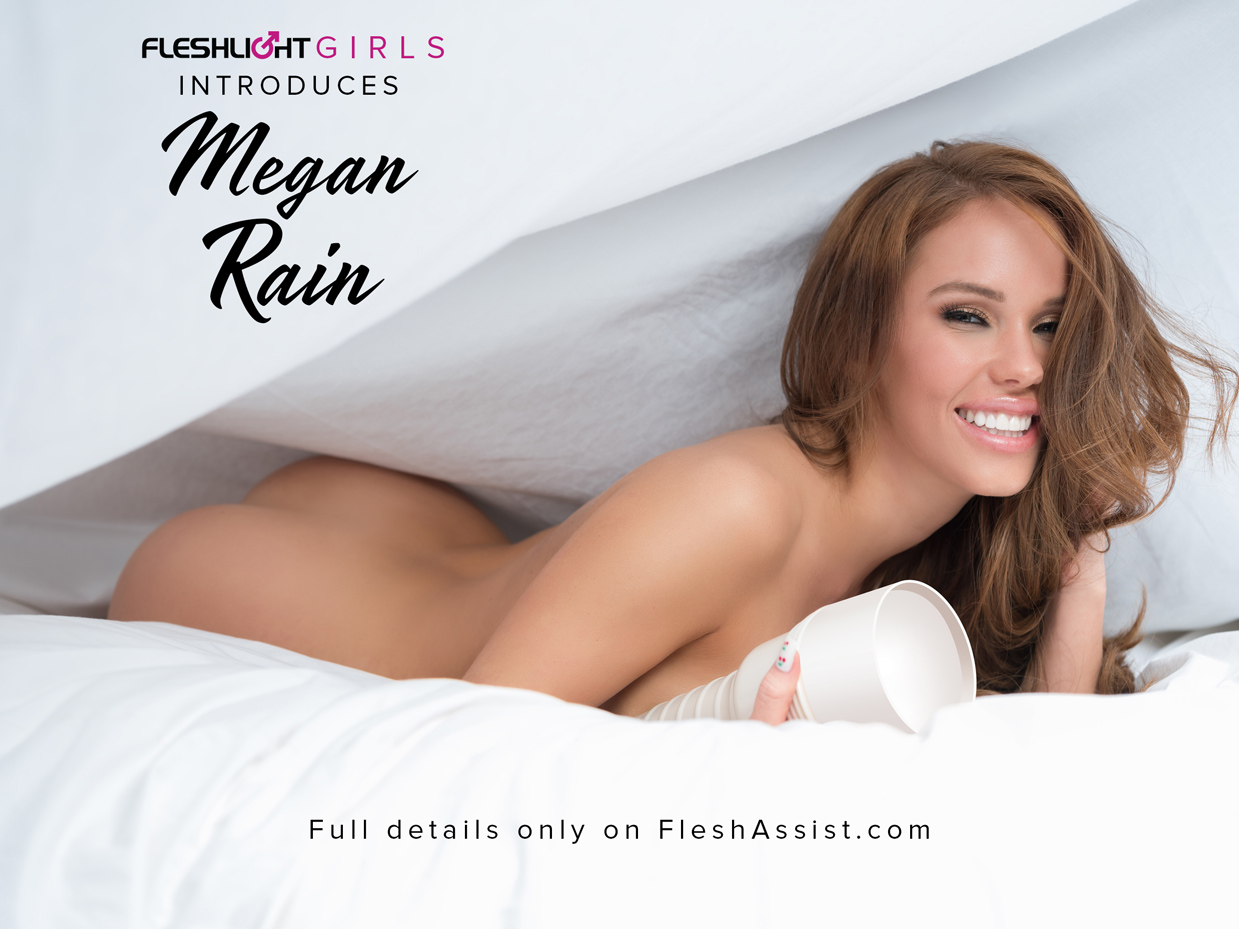 Fleshlight Girl Megan Rain Announcement Image